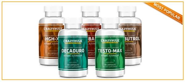 Crazy Bulk Growth Stack includes HGH-X2 (Somatropinne), DecaDuro (Deca